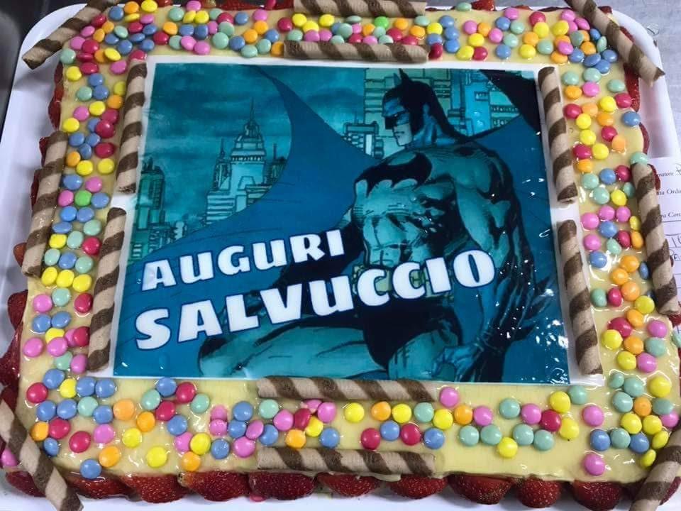 cialda personalizzata torta Batman