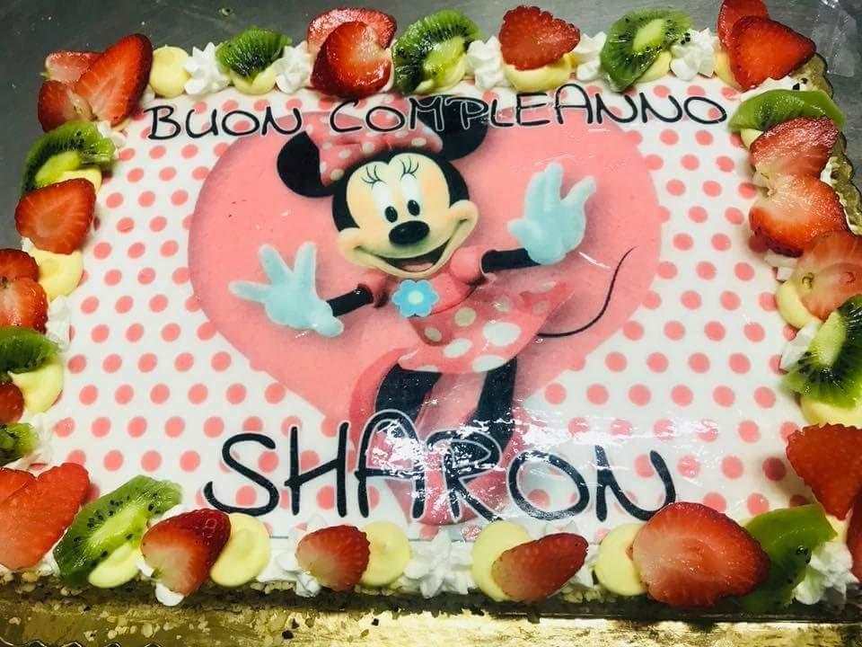 Cialda per torta personalizzata Minnie