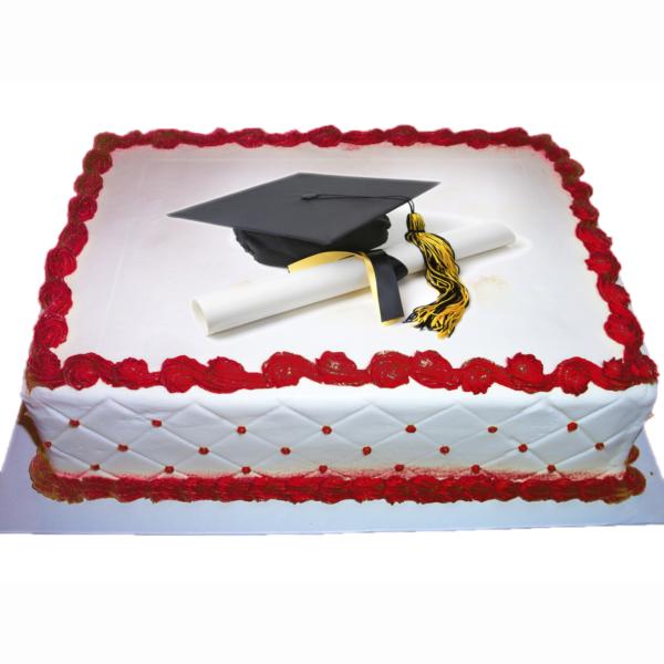 cialda per torta personalizzata laurea